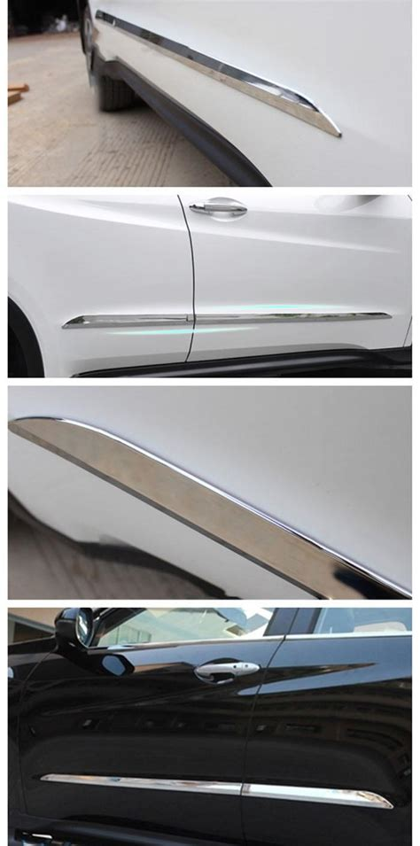 Side Molding Honda Hrv By Raptors accessories fit for 2015 honda hrv hr v 2014 2016 honda