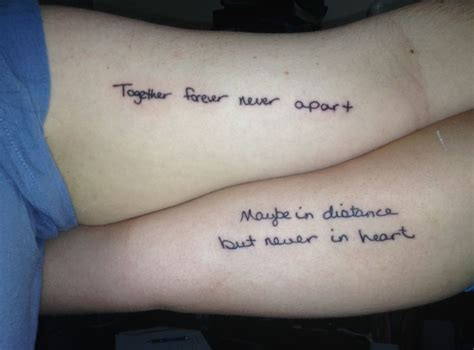 tattoo quotes photos mother daughter tattoo quotes mom and daughter tattoo quotes with meaning quotesgram