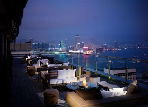 roof top bar hong kong sevva in hong kong luxurious restaurant and terrace bar
