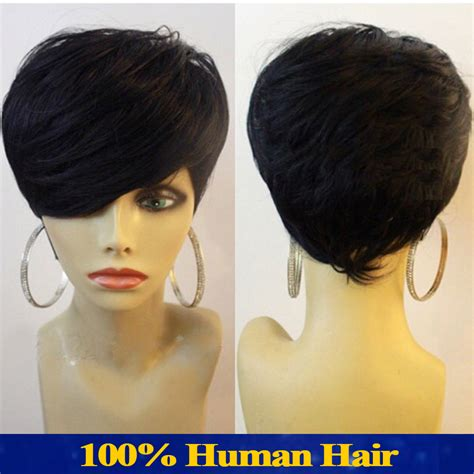 bob wigs human hair black women short human hair wigs for black women brazilian virgin