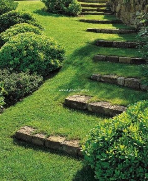 garden stairs landscape design garden stairs diy home decor