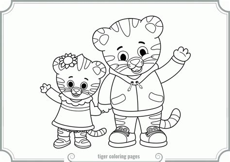 Neighborhood Coloring Page Coloring Home Daniel Tiger Coloring Page