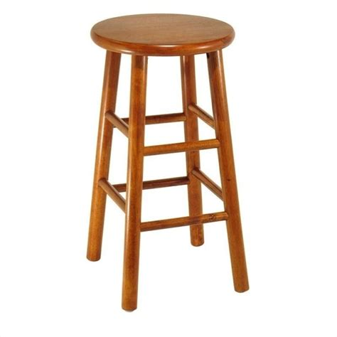 24 Counter Stools 24 Quot Counter Bar Stools In Cherry Set Of 2 75284