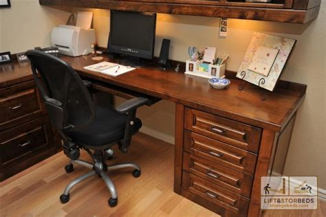 Custom Home Office Desks Custom Office Furniture Oak Alder Custom Entertainment Centers
