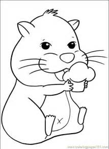 hamster coloring pages free pets coloring pages