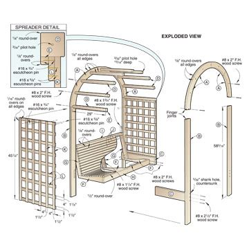 news and article garden arbor woodworking plans download arbor plans for gardens plans free