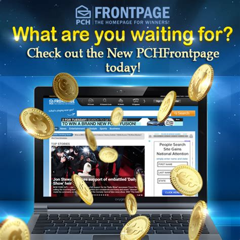 Pch Frontage - enjoy awesome winning opportunities at the new pchfrontpage pch search win blog