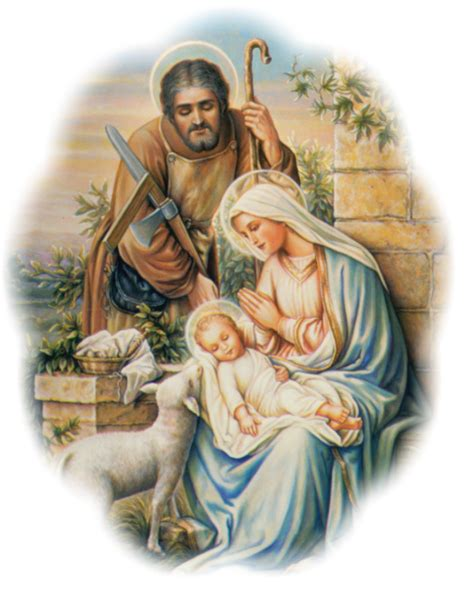 holy family of jesus and joseph walking with god holy family
