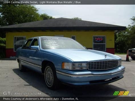 1994 cadillac interior light montana blue metallic 1994 cadillac sedan