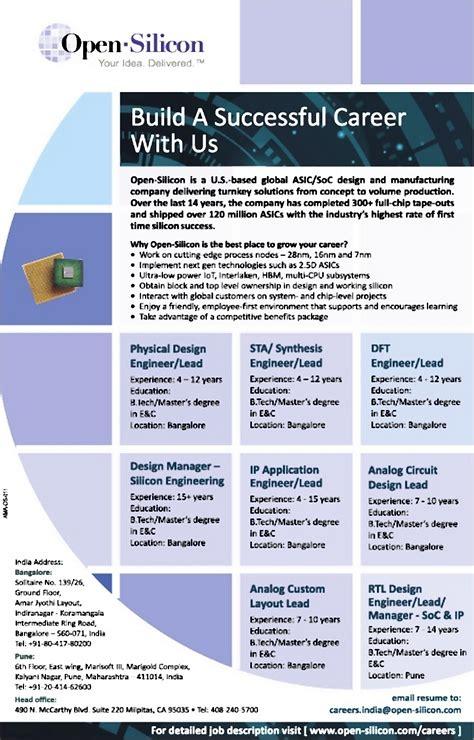 rtl design engineer job description job rtl design lead pune engineering civil and