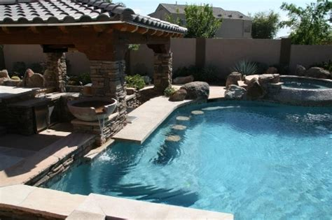 Backyard Swimming by Build An Attractive Backyard Pool Bar By Your Self