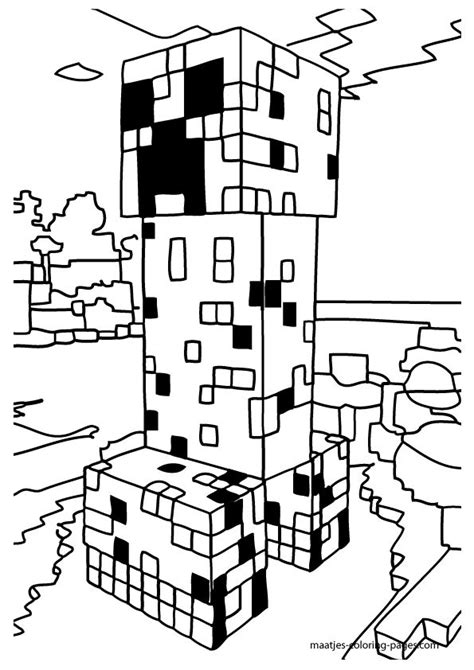minecraft guy coloring page minecraft coloring pages to print coloring home