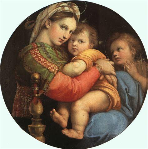 madonna della sedia epph raphael s madonna della sedia 1513 14