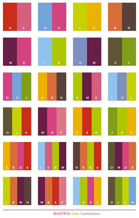 color combinations beautiful color schemes color combinations color palettes for print cmyk and web rgb html