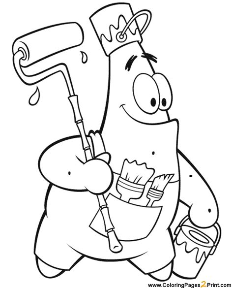 coloring pages spongebob characters spongebob squarepants coloring pages