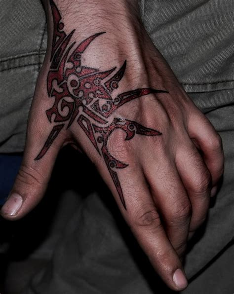 hand tribal tattoos ideas