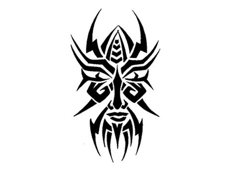 tribal face tattoo designs 15 awesome tribal tattoos only tribal