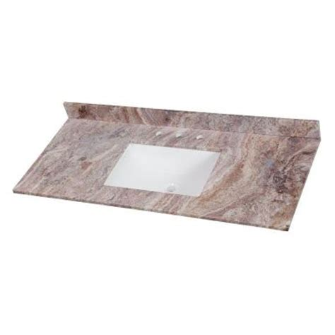 Effects Vanity Top by Home Decorators Collection 49 In Effects Vanity Top