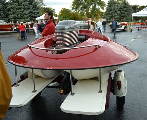 round saucer boat del s unusual 1966 cir craft do we call it a runabout or