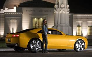 with cars megan fox chevrolet camaro bumblebee