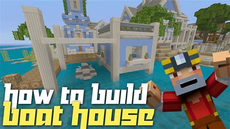 how to build a boat in minecraft xbox 360 minecraft xbox 360 how to build a boat house w jet ski