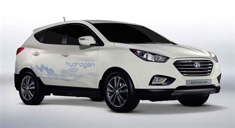 Hyundai Fuel Cell Vehicle Hyundai Ix35 Fuel Cell Hydrogen Powered Suv Launching
