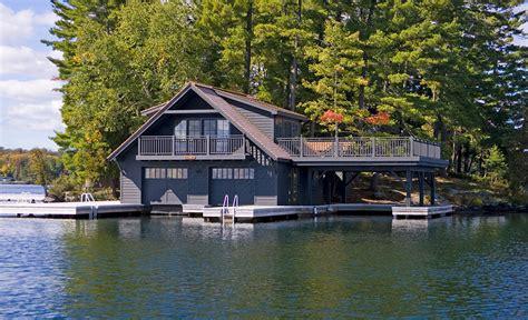 boat house ca muskoka boathouse 1 michael preston design