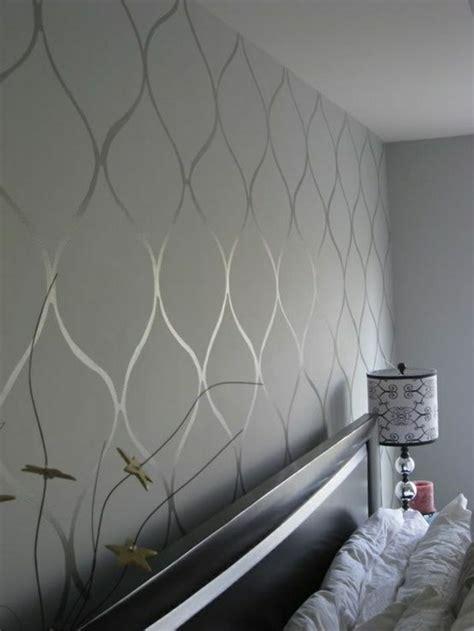 Schlafzimmer Tapete by Tapete In Grau Stilvolle Vorschl 228 Ge F 252 R Wandgestaltung