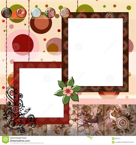 scrapbook layout designs free bohemian gypsy style scrapbook album page layout 8x8