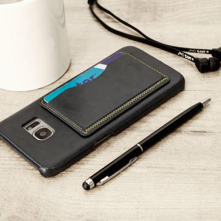 Samsung Galaxy S7 Edge Premium Casing Backcase Look Leather Tpu olixar leather style samsung galaxy s7 edge card slot