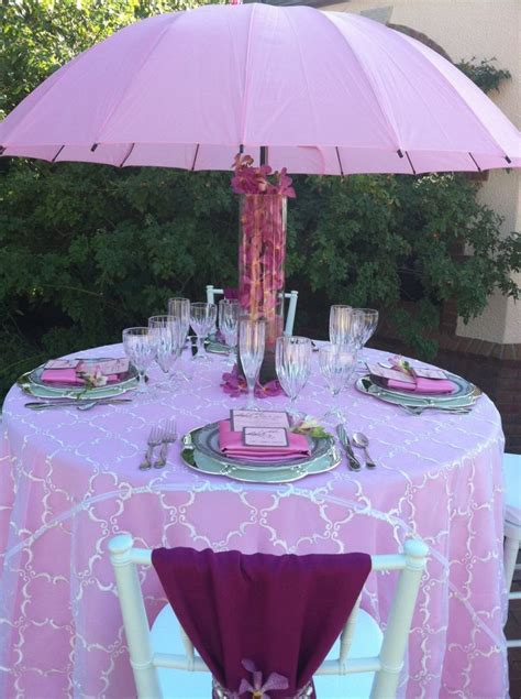Umbrella Centerpiece Baby Shower Pinterest Baby Shower Umbrella Centerpieces