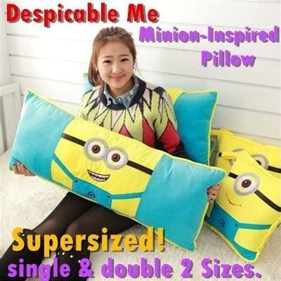 G Dress Kid Tsum Tsum Qoo10 Supersized Despicable Me Minion Inspired Pillow