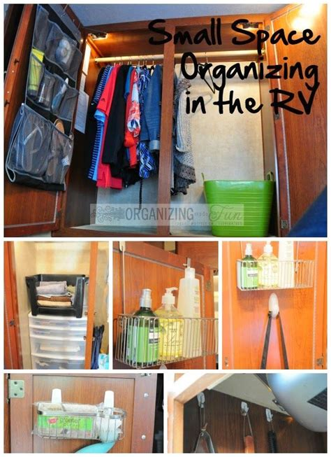 the big list of small space organizing ideas small space organizing in the rv organizingmadefun com