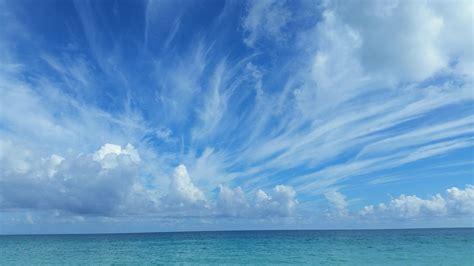 blue sky landscape free photo landscape clouds sea cloudy sky free
