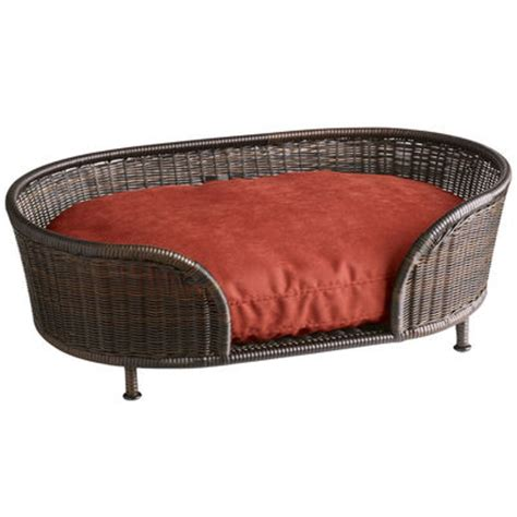 pier one beds coco cove dog bed mocha pier 1 imports