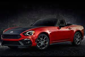 124 Abarth Spider Fiat 124 Spider Elaborazione Abarth Sprints Into New York