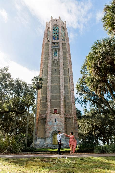 Bok Tower Garden by Bok Tower Gardens Engagement Sessionorlando Wedding