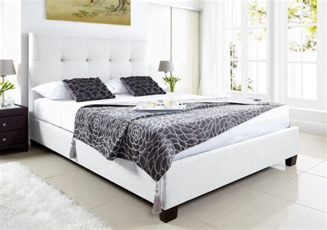 white leather ottoman storage bed 25 best ideas about white leather bed on pinterest