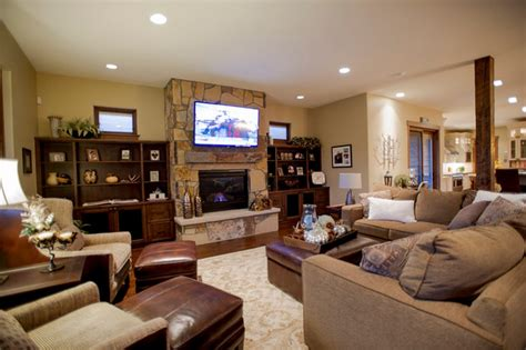 decorating with family photos pleasing 90 family room decor ideas with fireplace