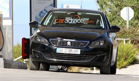 peugeot best selling car 2017 peugeot 308 facelift spied photos 1 of 9