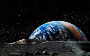 Lunar Landscape Definition Nature Landscape Planet Earth Space Moon Horizon