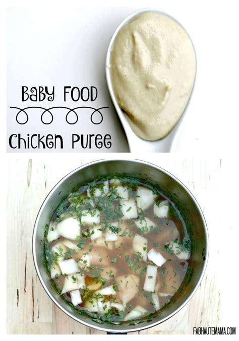 Chicken Baby Food Recipe 6 Months