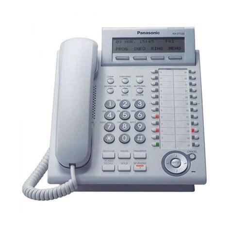 Telepon Digital Proprietary Panasonic Kx Dt521x jual panasonic digital proprietary digital phone kx dt333 telepon putih harga