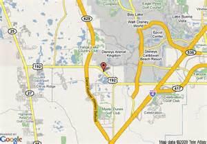 florida resort map map of summer bay resort kissimmee