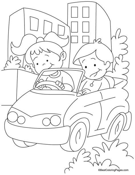 coloring book zip drive ambulance coloring page az coloring pages