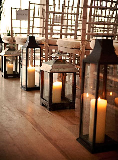 Wedding Aisle With Lanterns by Inspiration Carriage Lanterns Ultrapom Wedding And