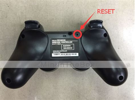 reset video on ps3 wireless dual shock controller for ps3 green 346993 2016