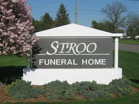 stroo funeral home signmakers ltd