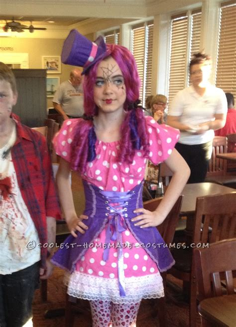 broken doll costume diy polka dot broken doll costume made by an 11 year