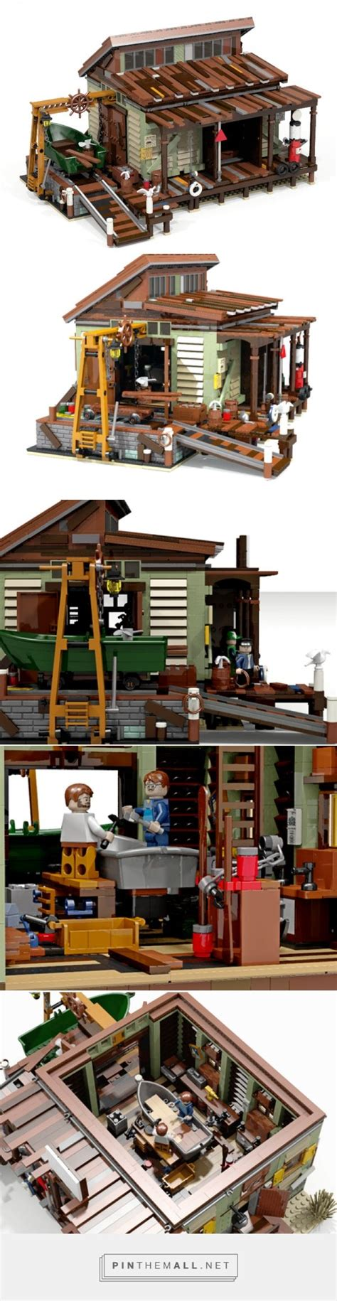 lego boat repair shop 1000 images about lego water theme on pinterest fishing